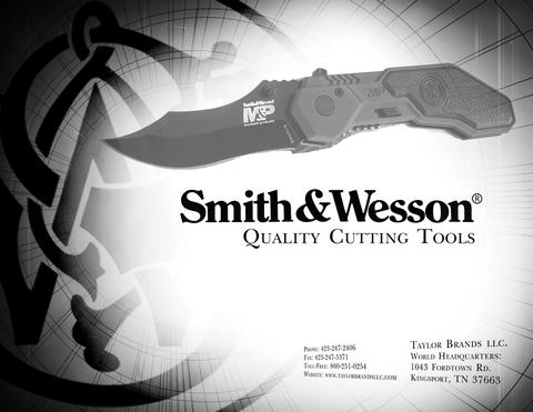 Фото каталога ножей Smith & Wesson