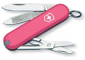 Фото ножа Victorinox Swiss Army Classic in Pink