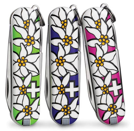Фото ножа Victorinox Pink Edelweiss Classic SD