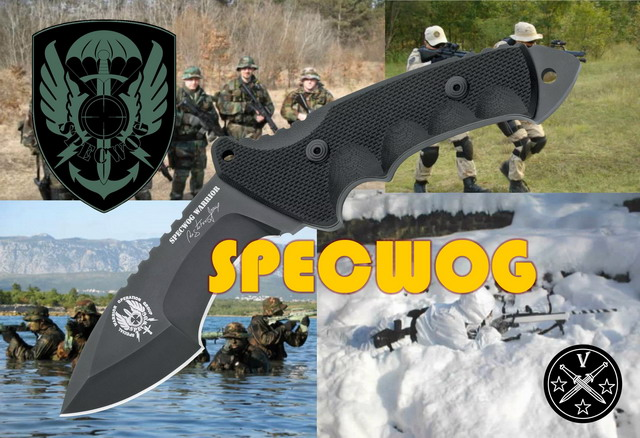"Боевой нож ""Sspecwog Warrior Tactical Combat Knife"""
