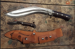 Bushman Khukri/Bushman Back Up Knife – «Комбо» от Base Camp X